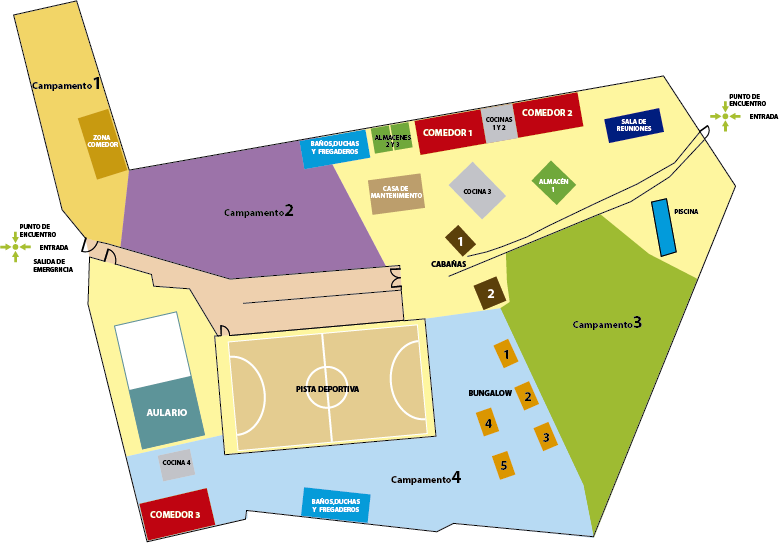 Mapa instalaciones